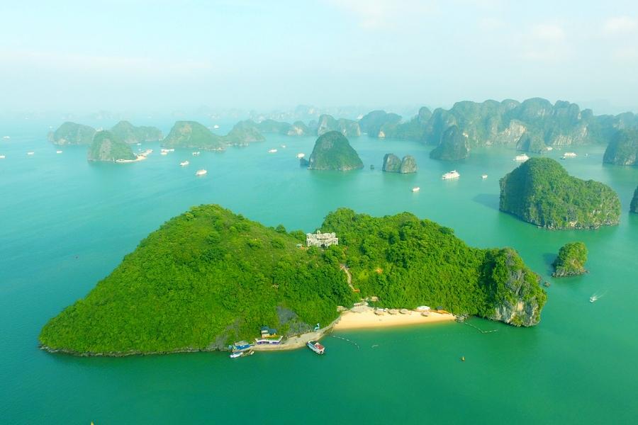 The pristine Soi Sim Island