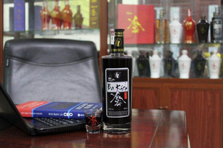 Ba Kich Wine in Halong